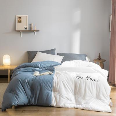 2019新款棉之家冬被被子被芯 150*200/5.5斤 The Home-蓝黛