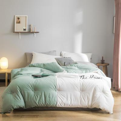 2019新款棉之家冬被被子被芯 150*200/5.5斤 The Home-茂绿