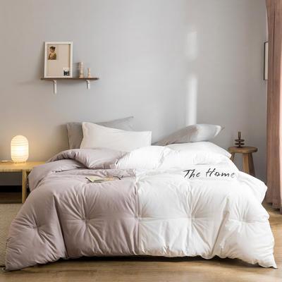 2019新款棉之家冬被被子被芯 150*200/5.5斤 The Home-仙紫