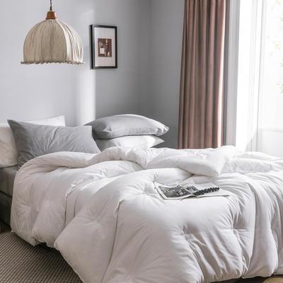2019新款棉主义冬被被子被芯 150*200/5.5斤 棉主义-纯白