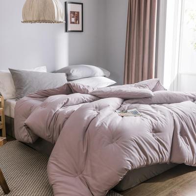 2019新款棉主义冬被被子被芯 150*200/5.5斤 棉主义-栗紫