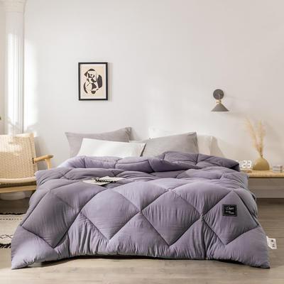 2019新款洛可可冬被被子被芯 150*200/5斤 洛可可-蔷薇紫
