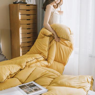 2019新款賽杜邦冬被被子被芯 150*200/4斤 杜邦-月光黃