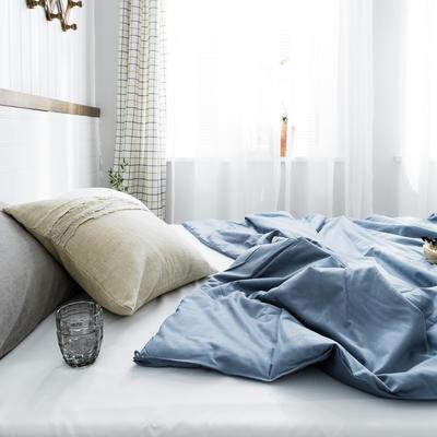 2020新款【棉主义】全棉被子夏凉被空调被白领名宿被 150x200cm 棉主义-宝石蓝
