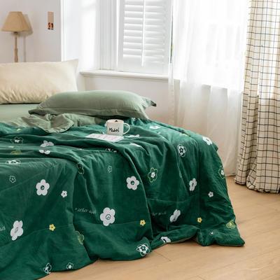 2020新款水洗棉印花夏凉被夏被空调被学生宿舍被名宿被 150*200cm 缤纷朵朵