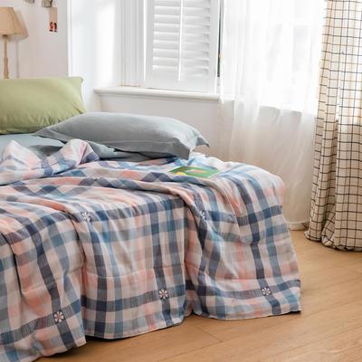 2020新款水洗棉印花夏凉被夏被空调被学生宿舍被名宿被 150*200cm 格调