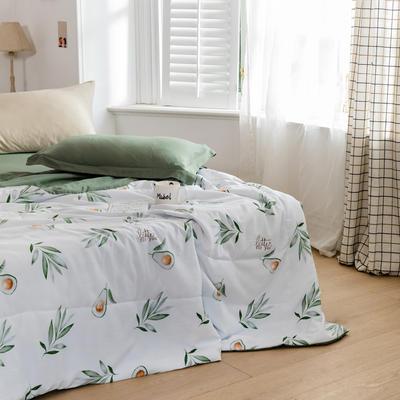 2020新款水洗棉印花夏凉被夏被空调被学生宿舍被名宿被 150*200cm 洛情