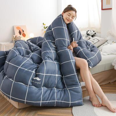 2020秋冬新品仿棉冬被被子被芯 150*200cm重3斤 皇冠