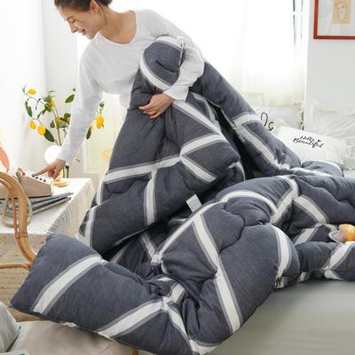 2020新款仿棉被子被芯冬被 150*200/3斤 灰色空间