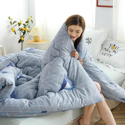 2020新款仿棉被子被芯冬被 150*200/3斤 几何空间