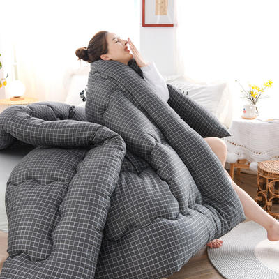 2020新款仿棉被子被芯冬被 150*200/3斤 休闲生活