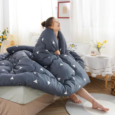 2020新款仿棉被子被芯冬被 110*150/1.2斤 魅力爱巢