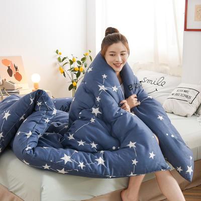 2020新款仿棉被子被芯冬被 150*200/3斤 摩登之星
