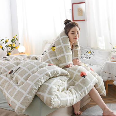 2020新款仿棉被子被芯冬被 150*200/3斤 甜蜜水果