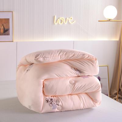 2020秋冬新品亲肤保暖暖绒棉冬被被子被芯 200X230cm重7斤 玉