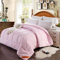 羊毛被 150x200cm(4斤) 粉色