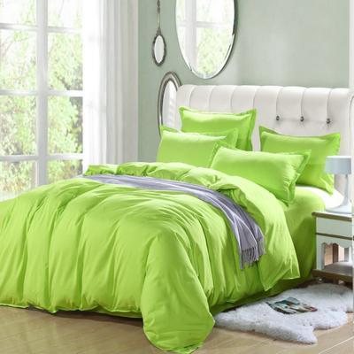 纯色床笠 180*200 纯色果绿