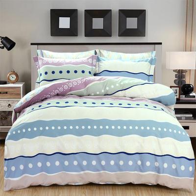 艾迪尚新款四件套-包边床单款 规格二 华美风尚