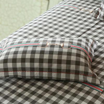 21支磨毛四件套系列(枕套) 48cmX74cm 西雅图