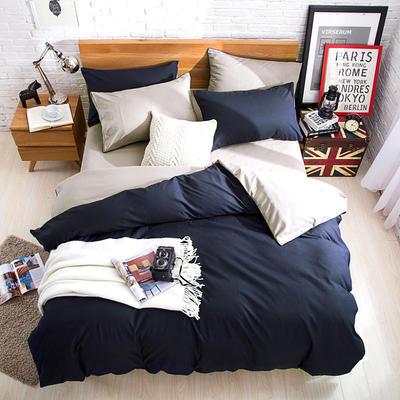 2018新款105克纯色双拼系列-单床单 160cmx230cm 卡其灰