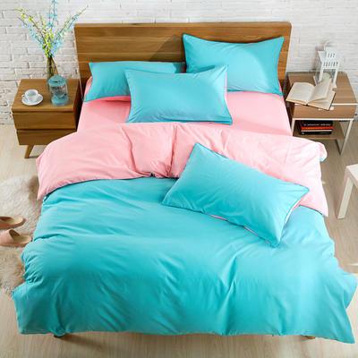 2018新款105克纯色双拼系列-单床单 160cmx230cm 墨绿玉