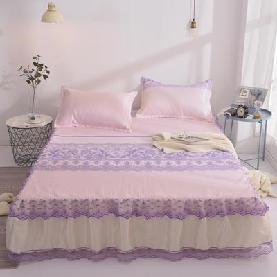 2019床裙款冰丝席 1.5*2m 紫荆之巅