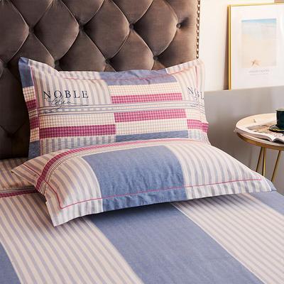 2020新款21支加厚全棉生态磨毛系列单枕套 48cmX74cm/对 格调时光