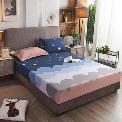 2020新款21支加厚全棉生态磨毛系列单床笠 150cmx200cm 安妮