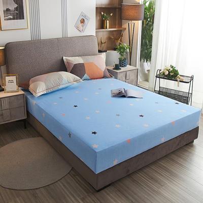 2020新款21支加厚全棉生态磨毛系列单床笠 150cmx200cm 多彩阁-桔