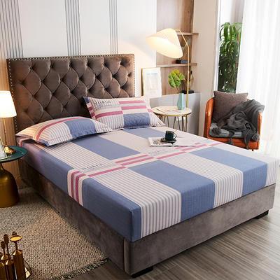 2020新款21支加厚全棉生态磨毛系列单床笠 150cmx200cm 格调时光