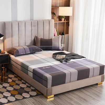 2020新款21支加厚全棉生态磨毛系列单床笠 150cmx200cm 凯蒂