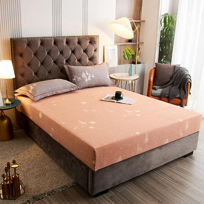 2020新款21支加厚全棉生态磨毛系列单床笠 150cmx200cm 亲密伙伴