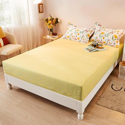 2021新款加厚全棉印花系列单床笠 150cmx200cm 窗外