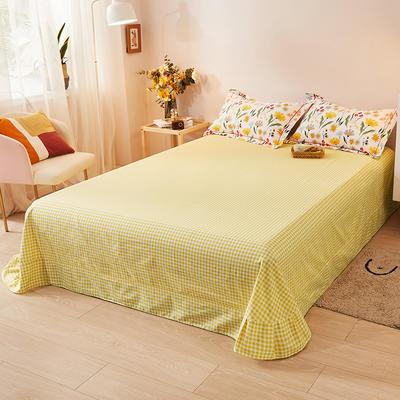 2021新款加厚全棉印花系列单床单 245cmx250cm 窗外