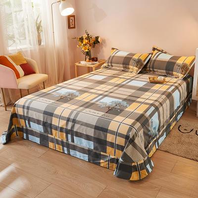 2021新款加厚全棉印花系列单床单 245cmx250cm 格林春天