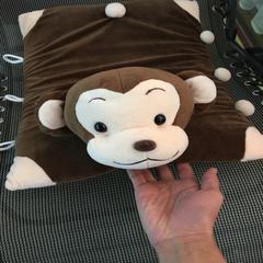 卡通乳胶枕 猴子