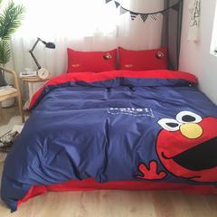 2018新款-寐色家居长绒棉四件套 1.5m(5英尺)床 艾莫
