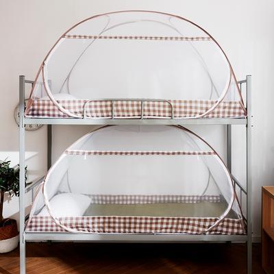 2019新款学生床上下铺英伦格系列 90×195×90 英伦格咖色