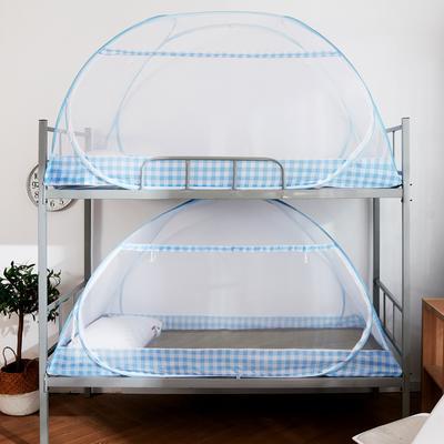 2019新款学生床上下铺英伦格系列 90×195×90 英伦格蓝色