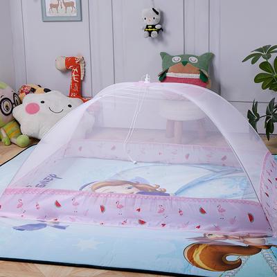 2020新款儿童蚊帐-西瓜 85*120cm 粉色