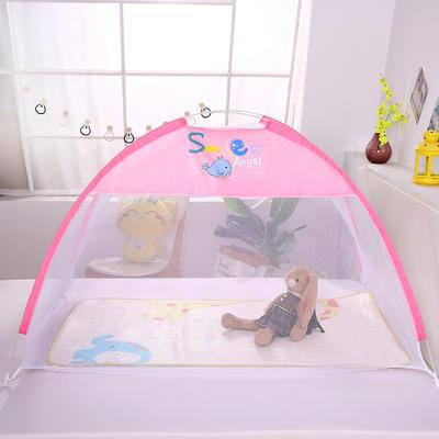 2020新款儿童蚊帐-童话小屋 120*65cm 童话小屋-粉