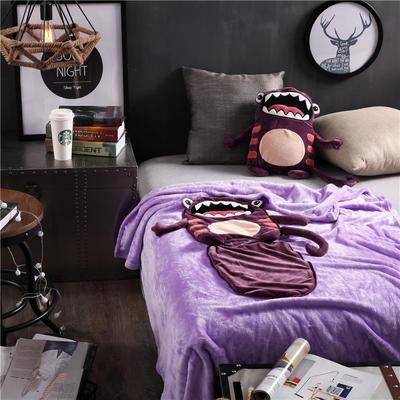大嘴兽-紫 110*160cm 大嘴兽-紫