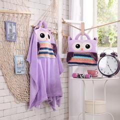 猫头鹰-紫 38*38cm,打开110*160cm 猫头鹰-紫