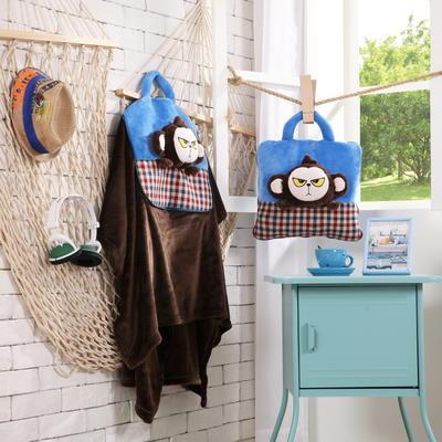 耍酷猴-蓝 38*38cm,打开110*160cm 耍酷猴-蓝