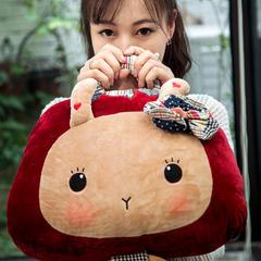 梦兔-大红 110*160cm 梦兔大红