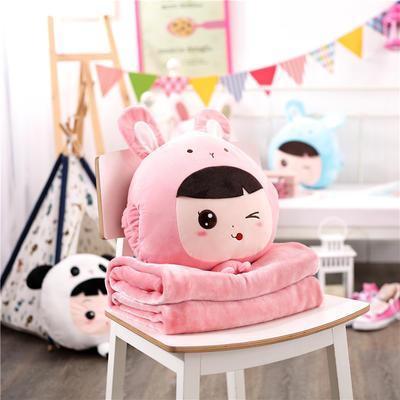 娃娃假扮兔子-粉 110*160cm 娃娃假扮兔子-粉