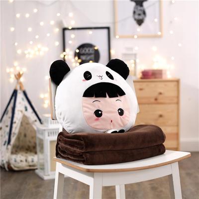 娃娃假扮熊猫 110*160cm 娃娃假扮熊猫