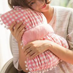 粉色格子 110*160cm 粉色格子