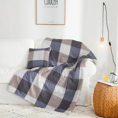 2018全棉抱枕被 40X40cm 创意空间咖
