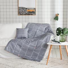 2018全棉抱枕被 40X40cm 乐章灰